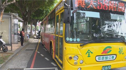 中市推零接觸公車 手機遙控公車下車鈴
