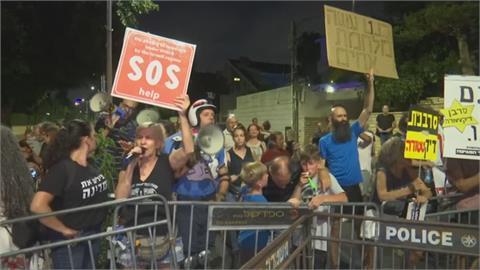 以色列下修BNT對Delta保護力僅39% 民眾圍總理官邸抗議強打令
