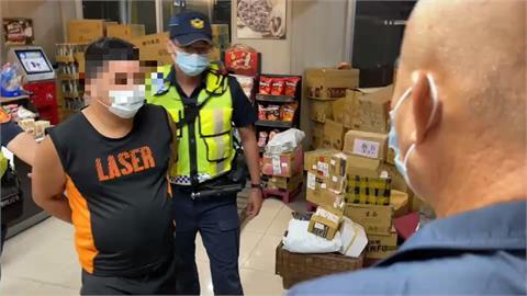 高雄前鎮漁港超商搶劫 店員機警報警逮人