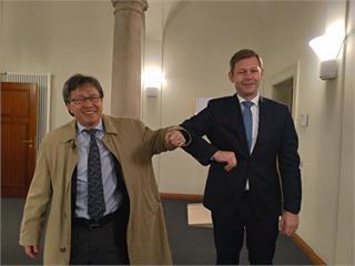 快新聞/又幹了「台獨外交」!謝志偉與德議員談遏止中國野心 世界需要台灣