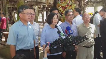 柯文哲追問台灣價值 蔡英文:已實踐在國政上