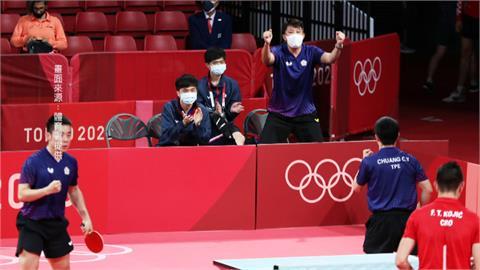 桌球男團八強拚德 國台灣隊激戰5點惜敗