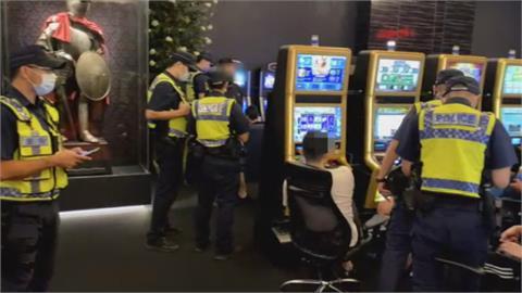 警稽查遊藝場宣導防疫 提醒別踩賭博紅線