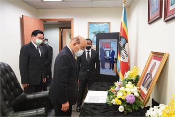 快新聞/蘇貞昌赴史瓦帝尼王國駐台大使館 追思已故總理戴安伯對台貢獻