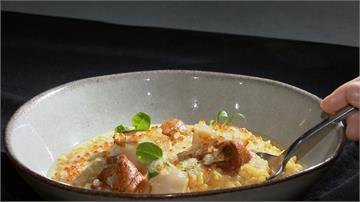 西式餐酒館也飄台灣味!海膽燉飯有味噌香