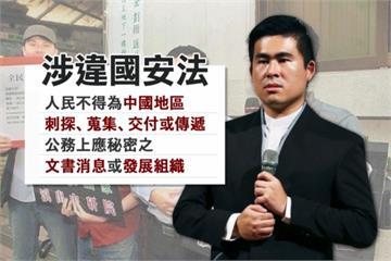 王炳忠涉國安法被搜索 將前往北檢複訊