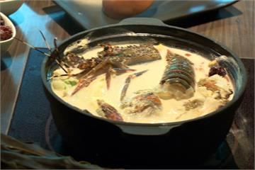 餓了!北海道牛奶火鍋 佐當季龍蝦螃蟹