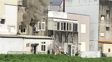 壯圍民宅「二樓濃煙狂竄」女子一度受困「從窗爬出獲救」