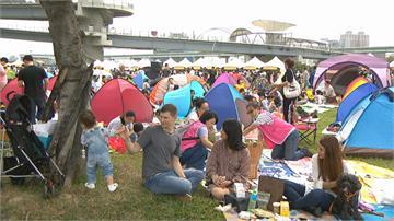 親子野餐派對培養「食育」 上萬民眾共襄盛舉