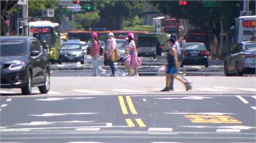 台北狂飆39度創史上7月最高溫 未來一周持續爆熱
