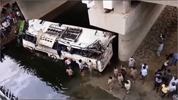印度阿格拉重大車禍 巴士翻落高架橋29死
