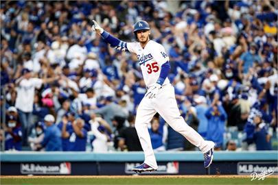 MLB/道奇後來居上勝勇士 國聯冠軍賽扳回一城