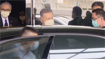 快新聞/森喜朗率團入境抵台 未回應受訪直接上車前往總統府