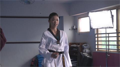 跆拳道國手拍廣告 東奧銅牌羅嘉翎代言反毒