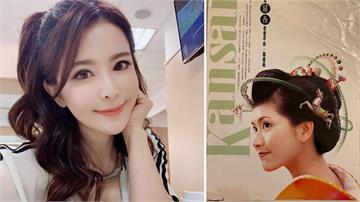 曾拍攝日本航空廣告!德馨「穿和服」清秀精緻臉龐引粉絲暴動:好像邱淑貞