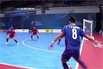亞洲盃五人制足球 台灣隊無緣八強