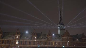 酷寒疫情下的一絲溫暖 丹麥燈光節登場