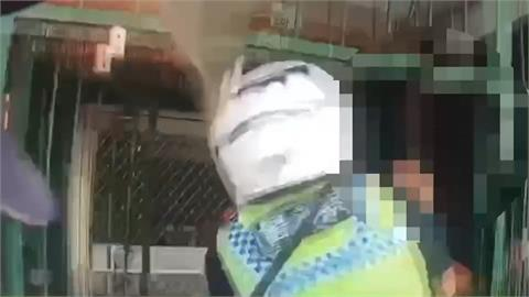 「把他抓起來啦」 男子酒醉家暴持西瓜刀亂揮 鄰報警逮人還傷警