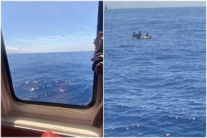 快新聞/漂流3天獲救!琉球籍漁船海難 綠島交通船救起3人1台籍船員亡
