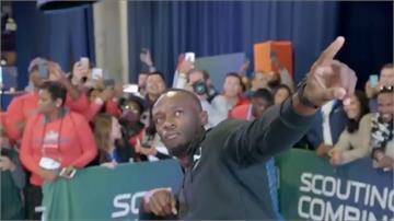 牙買加閃電波爾特 輕鬆跑追平NFL 40碼紀錄