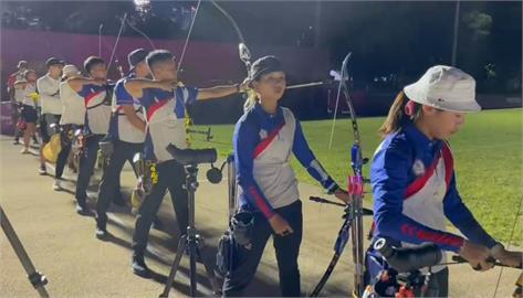 快新聞/畫面曝光! 台灣射箭隊挺進東奧訓練  總教練:全隊士氣高昂