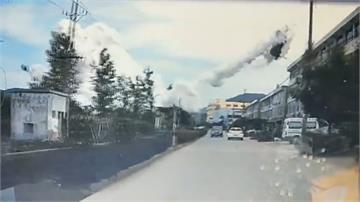 中國油罐車爆炸!小轎車一飛沖天 釀10死117傷