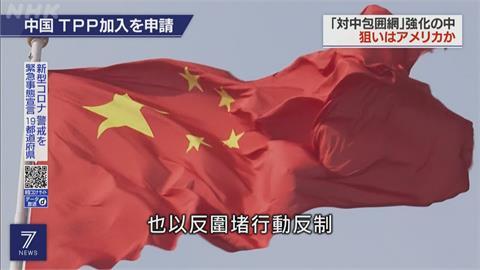 中國24架軍機擾台 外媒:衝著CPTPP而來