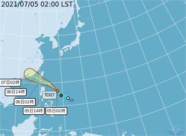 快新聞/菲律賓熱帶低壓逼近!輕颱「烟花」最快今生成 南部、東南部雨勢明顯