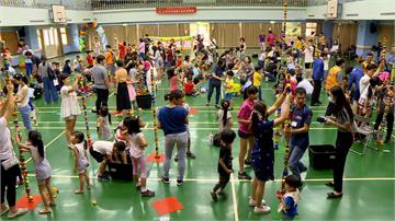 樂高親子日人氣旺 吸引500人共襄盛舉