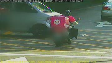 台北市一年外送員車禍逾2千件有外送員怕留負評違規騎車