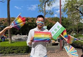 快新聞/同志遊行今登場! 林飛帆:婚姻平權法案通過不是平權運動的終點