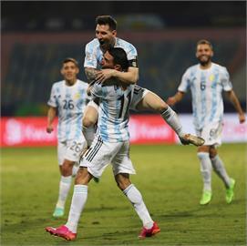 梅西頂新造型出賽!阿根廷美洲盃擊敗厄瓜多晉4強