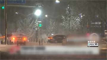 霸王級寒流!首爾零下17度暴雪道路結冰交通癱瘓 清除作業ING