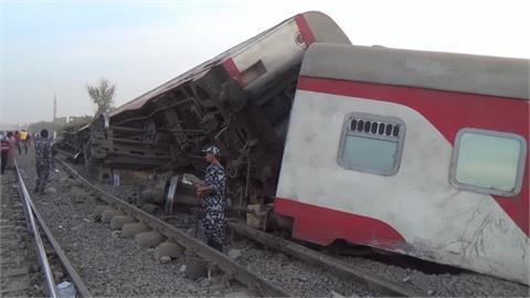埃及重大火車出軌意外 至少11死98傷