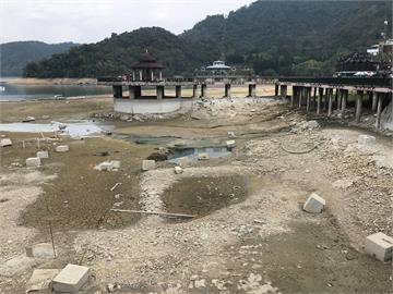 快新聞/水庫水位下降「淤積泥砂裸露」 1至3月清淤量創歷年最高