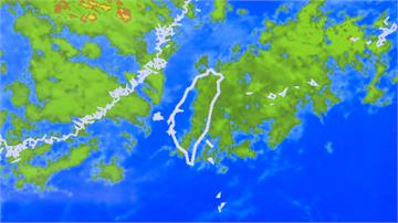 週末鋒面報到!中部以北、東北部有雨 3500公尺以上高山有望降雪