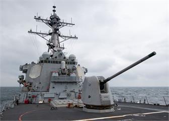 快新聞/美軍驅逐艦貝瑞號通過台灣海峽 國防部證實「全程掌握」