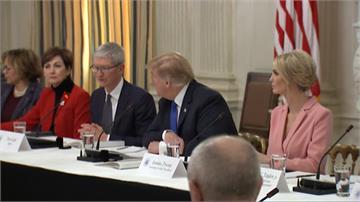 川普稱蘋果執行長「提姆蘋果」 網酸高牆總統