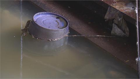 自來水管2度破管 水灌五金賣場地下室淹慘