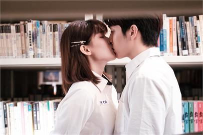 抓到了!「台版IU」睦媄跟陳彥嘉在圖書館熱吻!美照搶先看