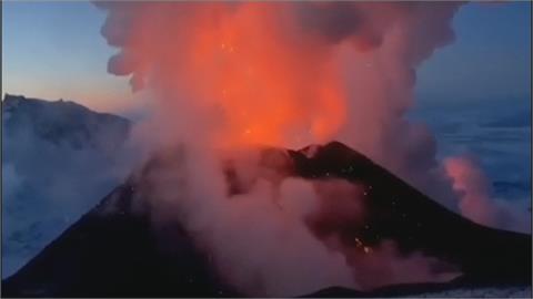 歐陸最高活火山 俄國克柳切夫火山噴發!