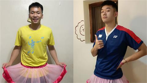 「麟洋」為公益穿上粉紅蓬蓬裙!萌翻萬名網友:毫無違和感