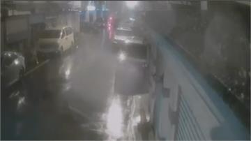 酒駕男闖單行道逆向撞三車 酒測值0.42肇事駕駛輕傷