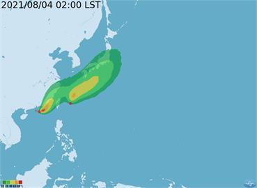 快新聞/輕颱盧碧生成! 可能穿過台灣海峽「預估今晚發海警」