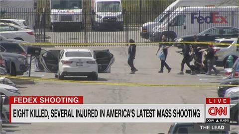 美國FedEx倉儲中心爆槍擊 槍手竟是前員工