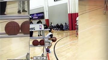 美國九歲3分球神童 跳級比賽戰勝中學生