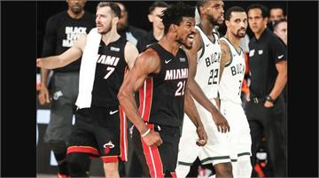 NBA/巴特勒30分率熱火逆轉公鹿 季後賽3連勝取得聽牌