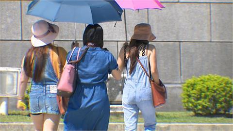 天氣回穩 高雄台南高溫上看36度