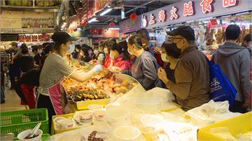 疫情衝擊轉線上採買 南門市場人潮不如以往