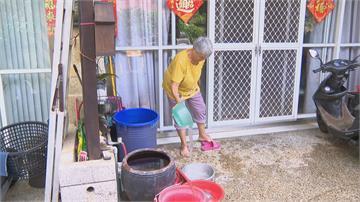 水被遊客用光? 台中百戶社區缺水1個月 無水洗澡好心酸